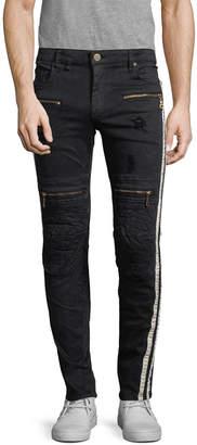 Robin's Jean Robins Jean Racer Zipper Pant
