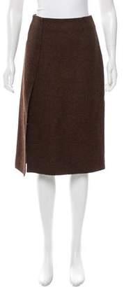 Altuzarra Wool Knee-Length Skirt