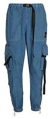 Off-White Men's Parachute Cargo Pants