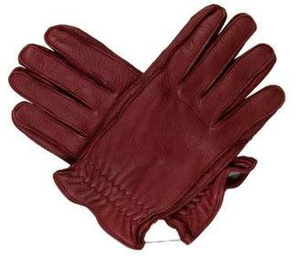 917c347f4253 Portolano Cashmere-Lined Leather Gloves w  Tags