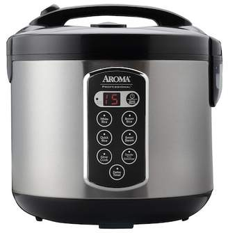 AROMA 20 Cup Digital Rice Cooker & Food Steamer