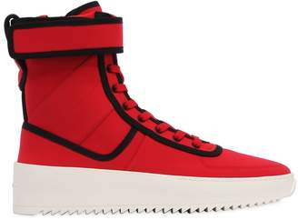 Fear Of God Military Nylon High Top Sneakers