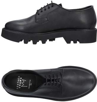 Leather Crown Lace-up shoes - Item 11473054RA