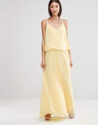 Vila Cami Overlay Maxi Bridesmaid Dress $40 thestylecure.com