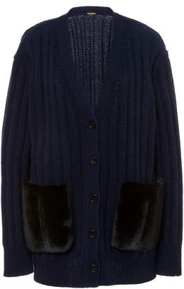 ADAM by Adam Lippes Oversized Wool-Cashmere Cardigan