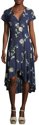 Free People Women's Lost In You Floral Midi Dress