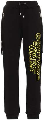 Moschino Wars Printed Cotton Track Pants