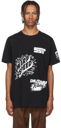 SSS World Corp Black Sponsors T-Shirt