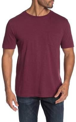 Vintage 1946 Short Sleeve Solid Knit Pocket T-shirt