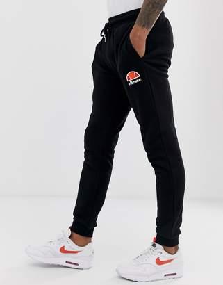 Ellesse Skinny Joggers In Black