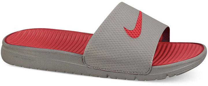 Nike Sandals, Benassi Solarsoft Slides
