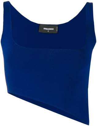 DSQUARED2 asymmetric cropped top