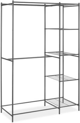 Whitmor Metal Double Rod & 5-Shelf Closet Organizer