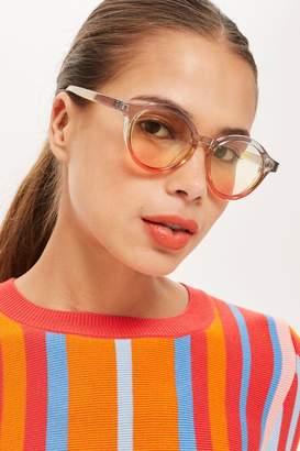 21a33a5b34d7 Topshop Womens Triple Colour Sunglasses - Yellow