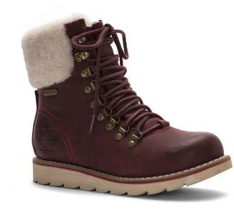 ROYAL CANADIAN Lethbridge Waterproof Snow Boot with Genuine Shearling Cuff