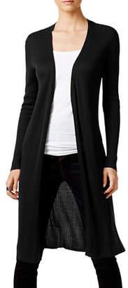 INC International Concepts Long Sleeve Ribbed Jacket