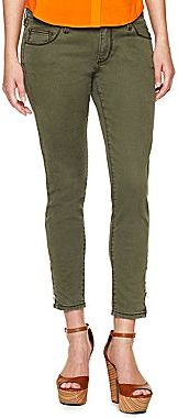 JCPenney a.n.a® Ankle-Zip Skinny Jeans -Talls
