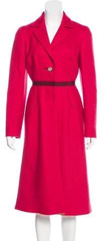 pradaPrada Long Wool Coat