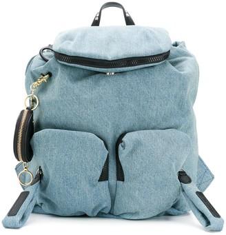 See by Chloe denim backpack