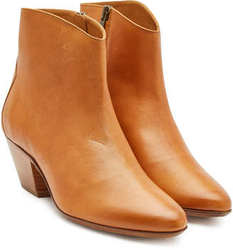 Isabel Marant Dacken Leather Ankle Boots