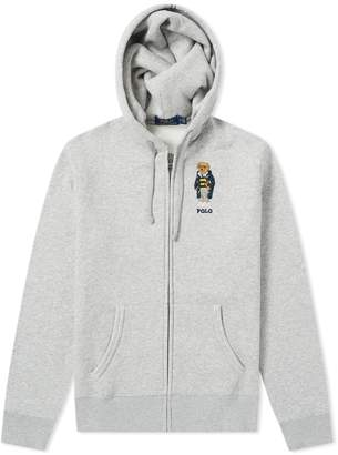 Polo Ralph Lauren Bear Embroidery Zip Hoody