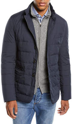 Herno Men's Quilted Gore-Tex® Blazer