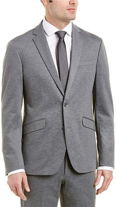 Kenneth Cole Reaction 2Pc Slim Fit Suit With Flat Pant
