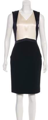 Chanel Wool Knee-Length Dress