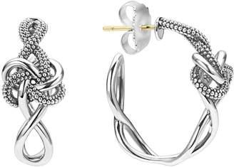 Lagos 'Love Knot' Hoop Earrings
