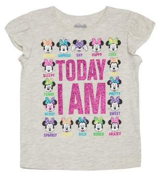 Minnie Mouse Toddler Girl Flutter Sleeve T-shirt