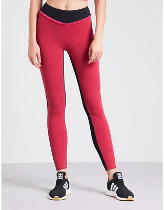 Ralph Lauren Sapopa high-rise ruffled stretch-jersey leggings