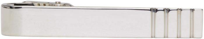 Thom Browne Silver Classic Long Tie Bar
