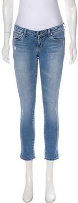 Paige Denim Rokbury Low-Rise Jeans