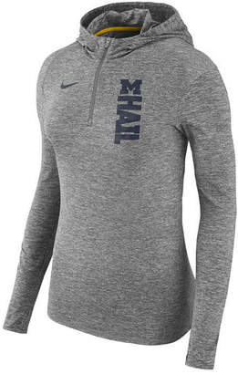 Nike Women's Michigan Wolverines Dri-fit Element Hoodie