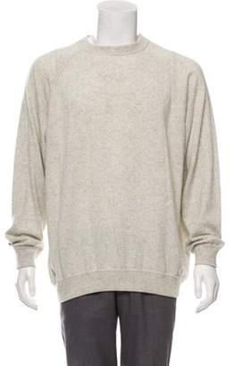 Malo Cashmere & Silk Crew Neck Sweater grey Cashmere & Silk Crew Neck Sweater