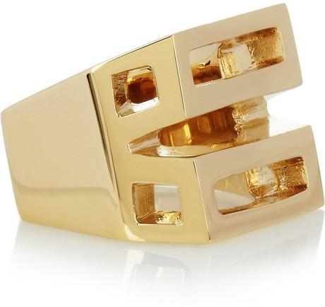 Chloé Bianca gold-tone ring