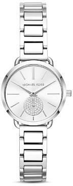 Michael Kors Portia Stainless-Steel Watch, 28mm