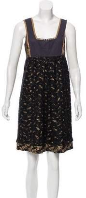 Mayle Sleeveless Lace Dress