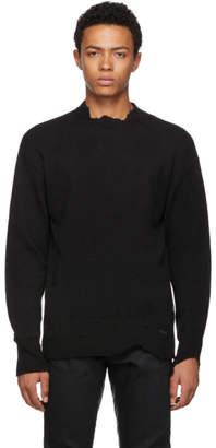 Diesel Black K-Must Crewneck Sweater