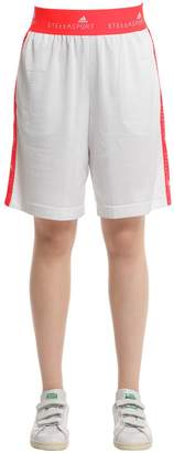 Oversized Techno Mesh Shorts