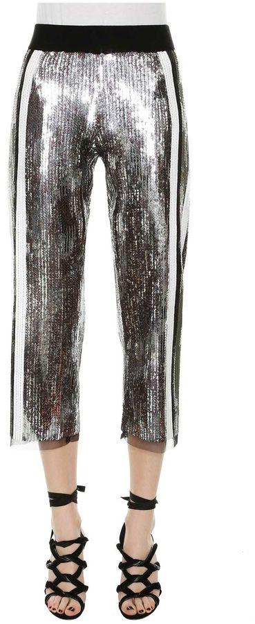 AviuAviu Paillettes Cropped Pants