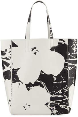 Calvin Klein Andy Warhol Flower Soft Tote Bag