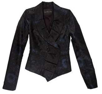 Rachel Zoe Ruffle-Accented Long Sleeve Jacket