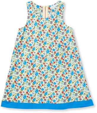 Elephantito Floral Ruffle Cotton Dress