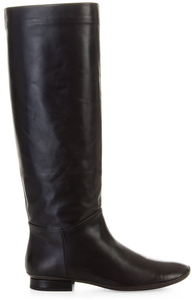 PEDRO GARCIA - Flat leather riding boots