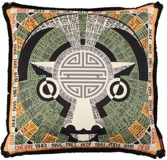 Missoni Goat Horoscope Cotton Pillow