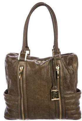 Rachel Zoe Leather Matelassé Shoulder Bag