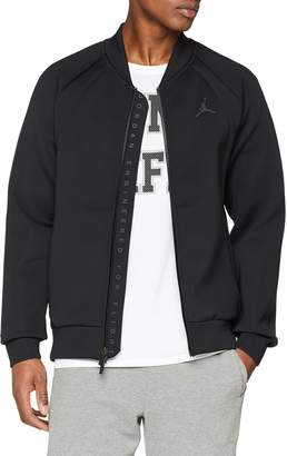 8800bd0a0b9f2d Jordan Air Flight Tech Men s Sportswear Casual Jacket Black 887776-010  (Size ...