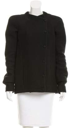 Balenciaga Wool Short Coat
