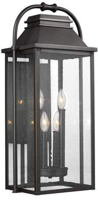 Feiss 4-Light Outdoor Wall Lantern